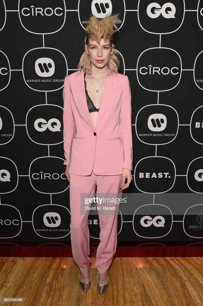 Charlie Barker attends the Brits Awards 2018 After Party hosted by Warner Music Group, Ciroc and British GQ at Freemasons Hall on February 21, 2018 in London, England.