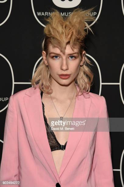 Charlie Barker attends the Brits Awards 2018 After Party hosted by Warner Music Group Ciroc and British GQ at Freemasons Hall on February 21 2018 in...