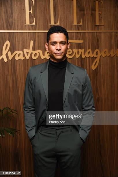 Charlie Barnett attends ELLE x Ferragamo Hollywood Rising Party at Sunset Tower on October 11 2019 in Los Angeles California