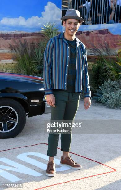 """Charlie Barnett attends the Premiere Of Netflix's """"El Camino: A Breaking Bad Movie"""" at Regency Village Theatre on October 07, 2019 in Westwood,..."""