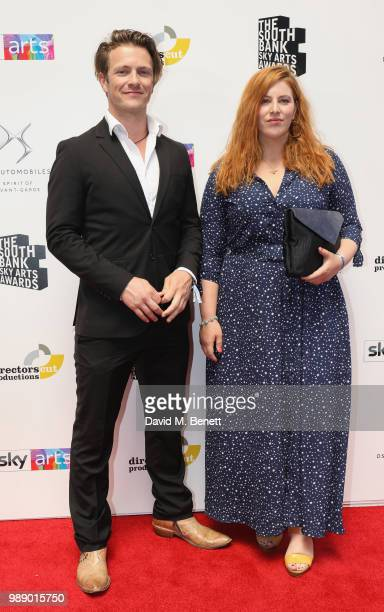 Charlie Bewley and Lydia Rose Bewley attends The South Bank Sky Arts Awards 2018 at The Savoy Hotel on July 1 2018 in London England Airing on 4th...