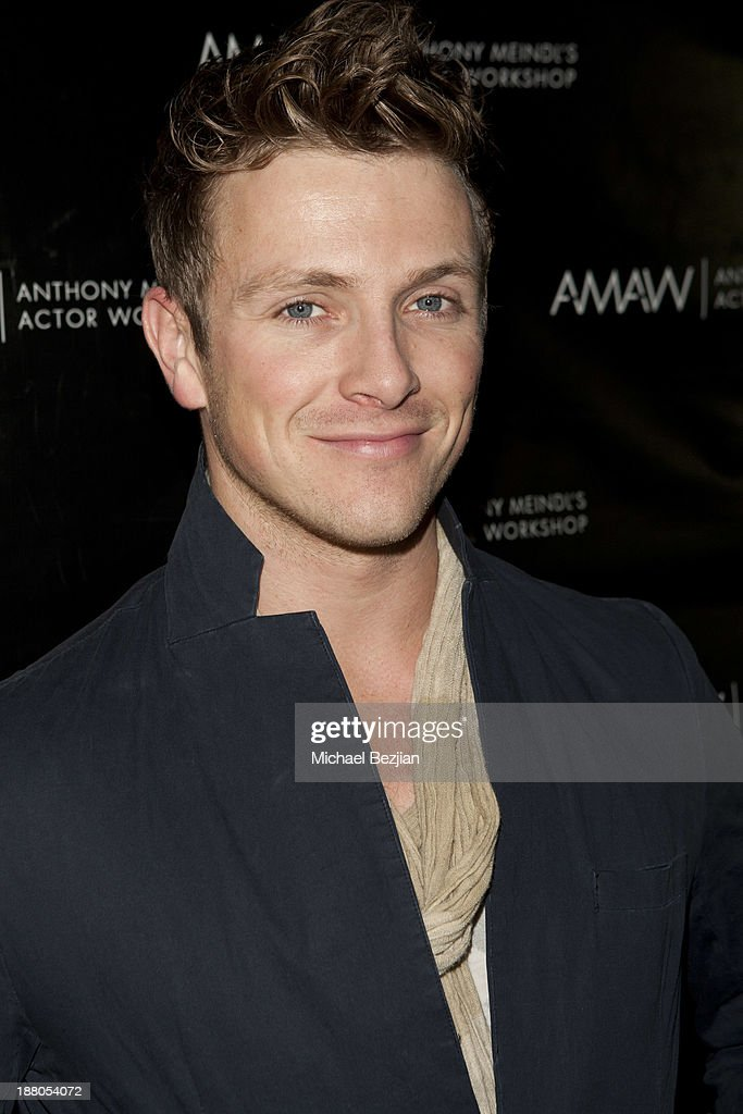 Charlie Bewley attends Alphabet Soup For Grown-Ups Book Launch Party at Bugatta on November 14, 2013 in Los Angeles, California.