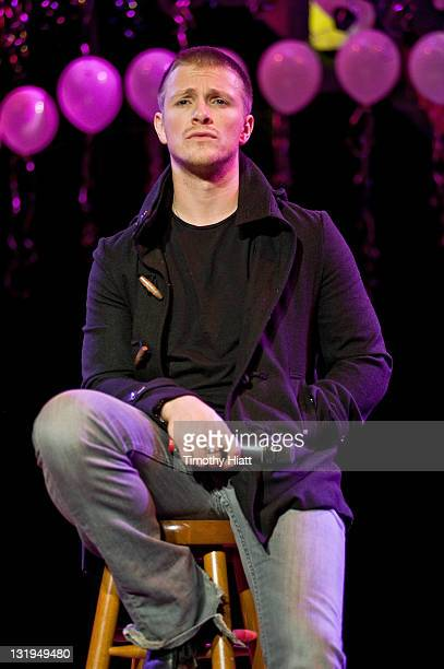 Charlie Bewley attends The Twilight Saga Breaking Dawn Part 1 Concert Tour at the House Of Blues Chicago on November 8 2011 in Chicago Illinois