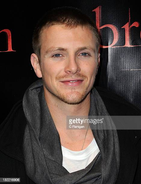 Charlie Bewley attends The Twilight Saga Breaking Dawn Part 1 Tour at The Fillmore on November 10 2011 in San Francisco California