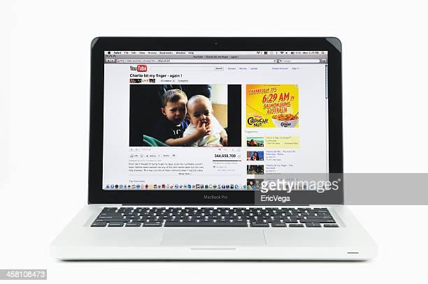 Charlie Bit My Finger on MacBook Pro