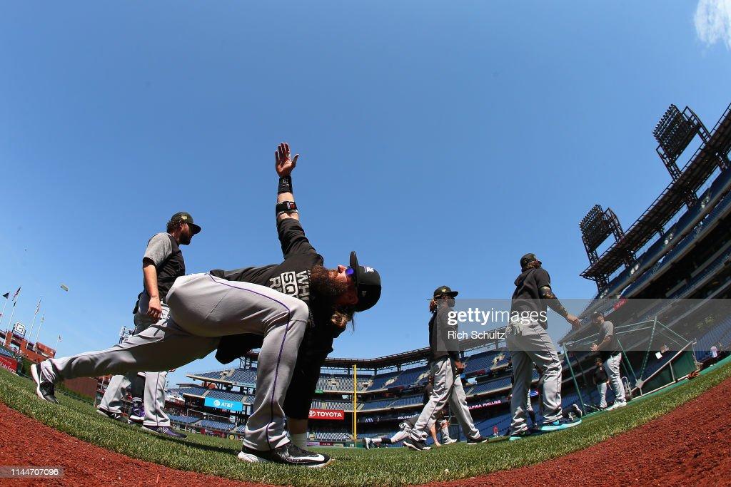 PA: Colorado Rockies v Philadelphia Phillies