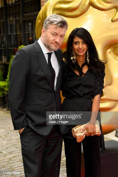 Charlie Brooker and Konnie Huq attend the British Academy Television Craft Awards at The Brewery on April 28 2019 in London England