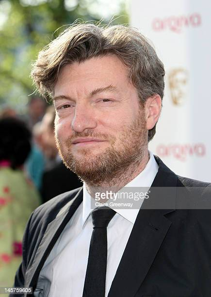Charlie Brooker attends The Arqiva British Academy Television Awards 2012 at The Royal Festival Hall on May 27 2012 in London England
