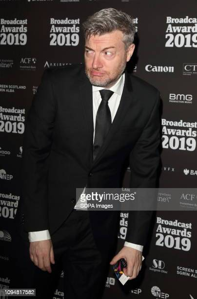Charlie Brooker seen at The Broadcast Awards 2019 at the Grosvenor House, Park Lane, Mayfair.