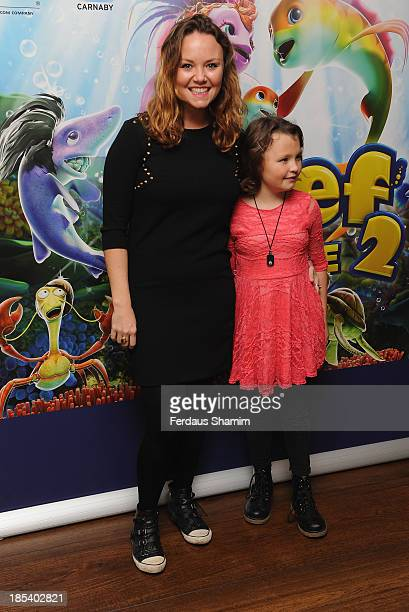 Charlie Brooks attends a celebrity screening of The Reef 2 The High Tide at Soho Hotel on October 20 2013 in London England