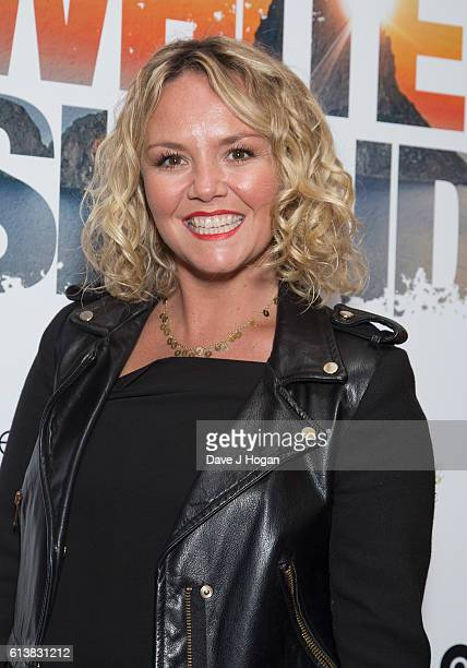 Charlie Brooks attends the film premiere of White Island at Vue Piccadilly on October 10 2016 in London England