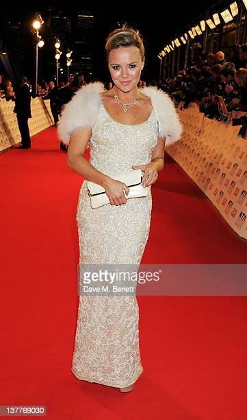 Charlie Brooks attends the National Television Awards 2012 at the O2 Arena on January 25 2012 in London England