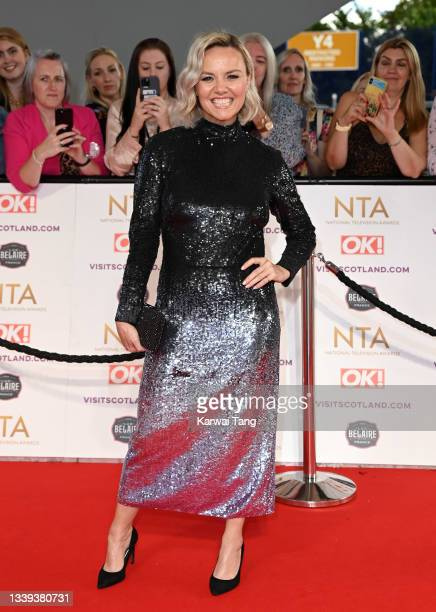 Charlie Brooks attends the National Television Awards 2021 at The O2 Arena on September 09, 2021 in London, England.