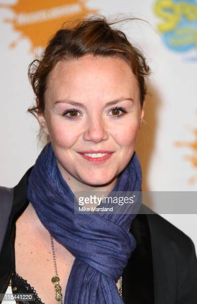 Charlie Brooks attends the SpongeBob SquarePants The Sponge Who Could Fly Gala Performance at Hammersmith Apollo on March 5 2009 in London England