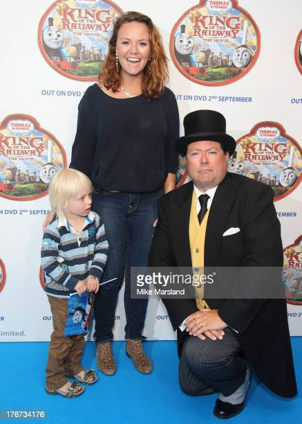 Charlie Brooks attends VIP Screening of Thomas & Friends: King Of The Railway at Vue Leicester Square on August 18, 2013 in London, England.
