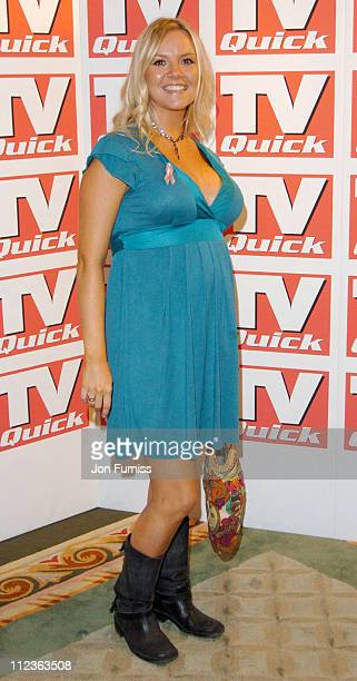 Charlie Brooks during 2004 TV Quick Soap Awards Arrivals at Dorchester Hotel in London Great Britain