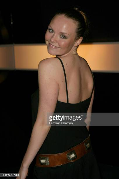 Charlie Brooks during Hell's Kitchen II Day 14 Arrivals at Atlantis Building in London Great Britain