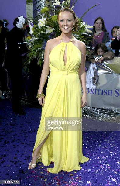 Charlie Brooks during The 2005 British Soap Awards Arrivals at BBC Tv Studios in London Great Britain