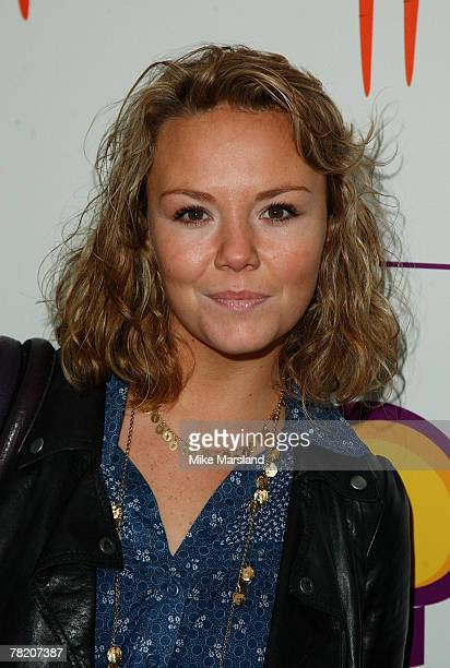 Charlie Brooks their little ones attend bash celebrating the success of Playhouse Disney's show Bunnytown at Covent Garden Film Studios on December 2...
