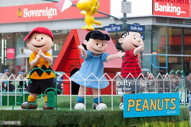 Charlie Brown attends the Macy's Legendary Thanksgiving Day Parade on November 24, 2011 in New York City.