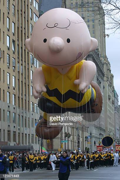 Charlie Brown giant balloon during The 78th Annual Macy's Thanksgiving Day Parade at Manhattan in New York City, New York, United States.