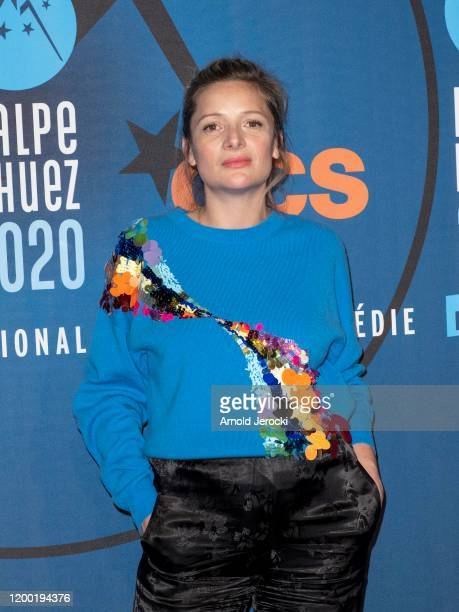 Charlie Bruneau attends the fourth day of the 23rd L'Alpe D'Huez International Comedy Film festival on January 17 2020 in Alpe d'Huez France