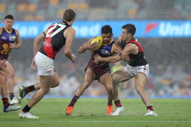 AUS: AFL Rd 5 - Brisbane v Essendon
