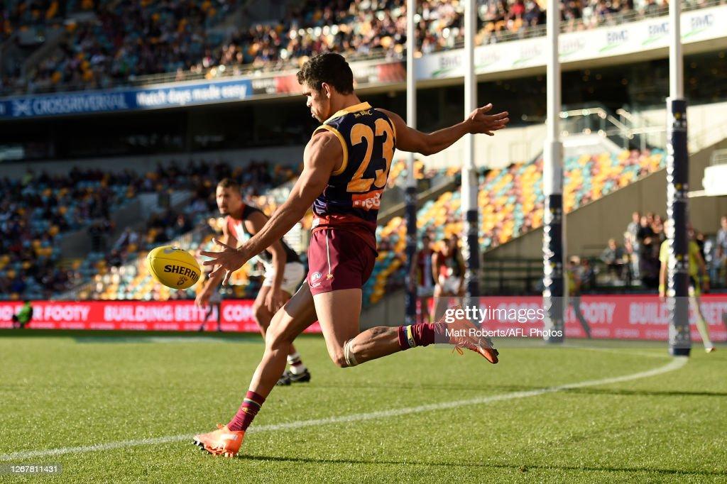 AFL Rd 13 - Brisbane v St Kilda : News Photo