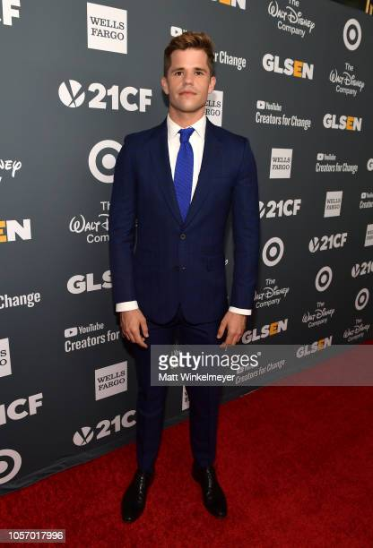 Charlie Carver attends the GLSEN Respect Awards at the Beverly Wilshire Four Seasons Hotel on October 19 2018 in Beverly Hills California