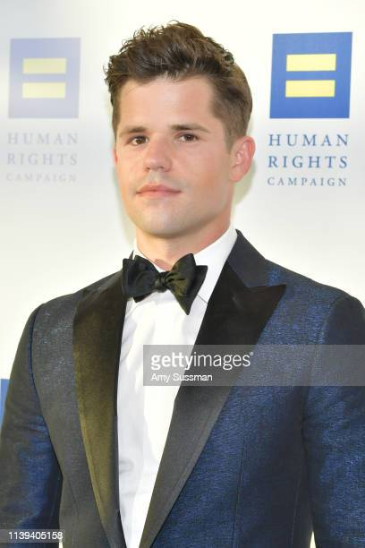 Charlie Carver attends the Human Rights Campaign 2019 Los Angeles Dinner at JW Marriott Los Angeles at L.A. LIVE on March 30, 2019 in Los Angeles,...