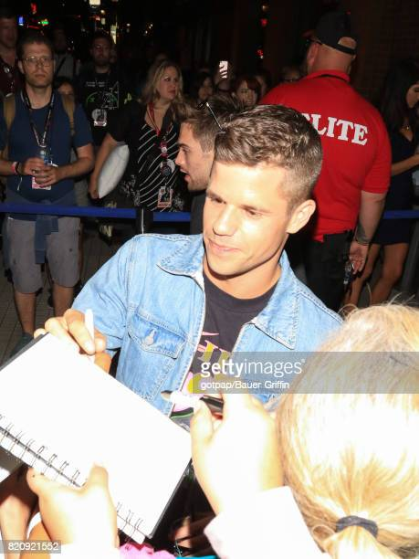 Charlie Carver is seen on July 21 2017 in San Diego California