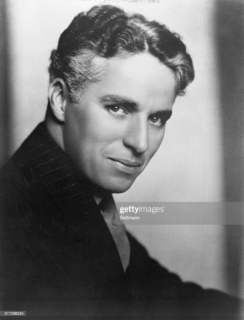 Charlie Chaplin, 1927.