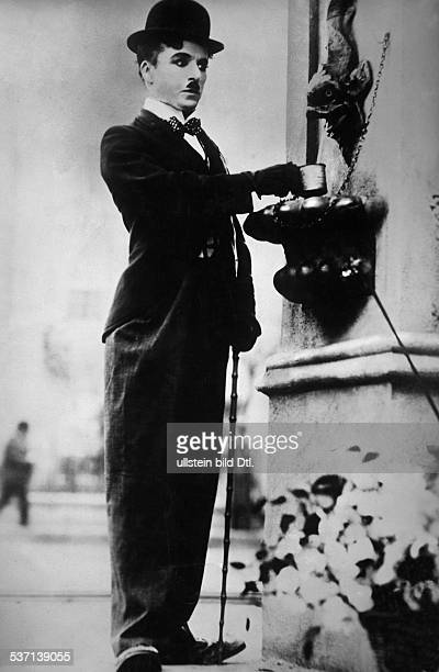 Charlie Chaplin Actor director Great Britain Chaplin in the movie 'City Lights'