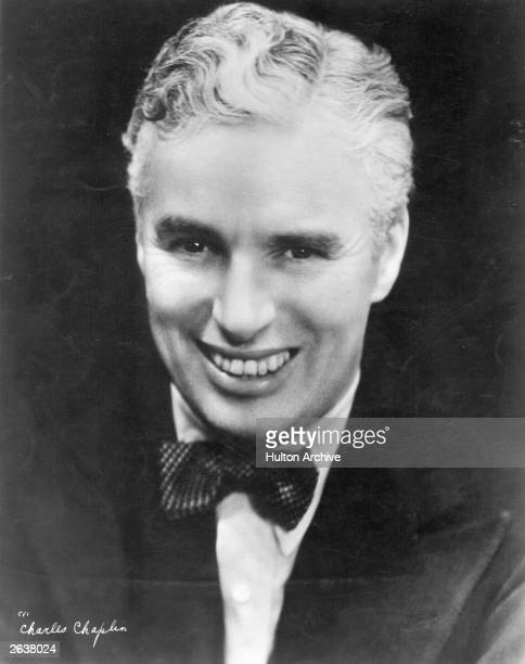 Charlie Chaplin English film actor and director without his usual costume and stage make up