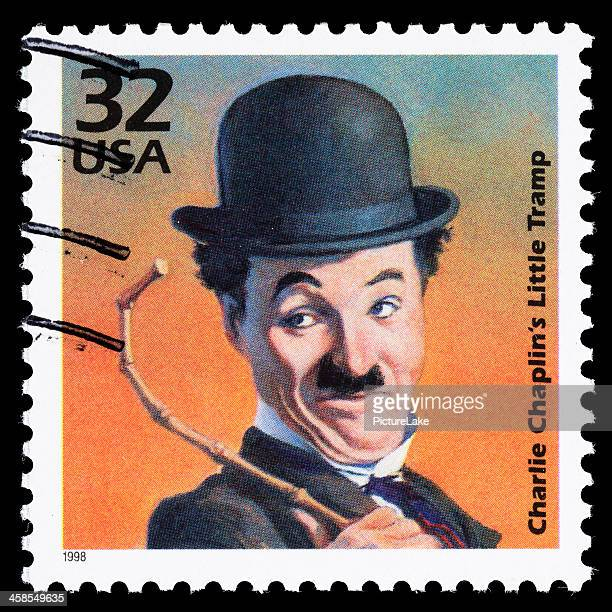 USA Charlie Chaplin Little Tramp postage stamp