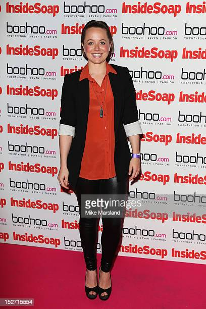 Charlie Clemmow attends the Inside Soap Awards at One Marylebone on September 24 2012 in London England