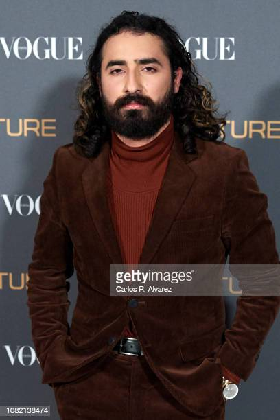 Charlie Cole attends 'Vogue LG Signature' photocall at Carlos Maria de Castro Palace on December 13 2018 in Madrid Spain