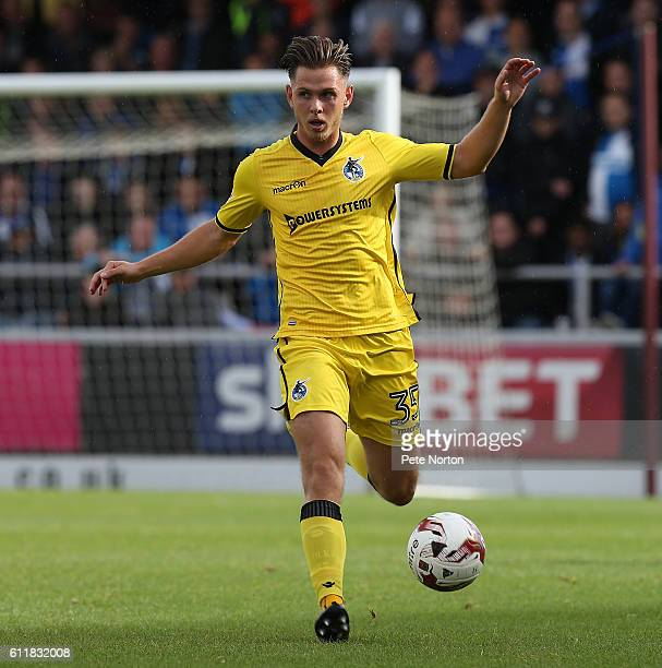Charlie Colkett of Bristol Rovers in action during the Sky Bet League One match between Northampton Town and Bristol Rovers at Sixfields Stadium on...