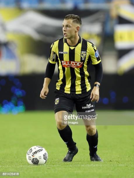 Charlie Colkett of Vitesse during the Dutch Eredivisie match between Vitesse Arnhem and NAC Breda at Gelredome on August 12 2017 in Arnhem The...