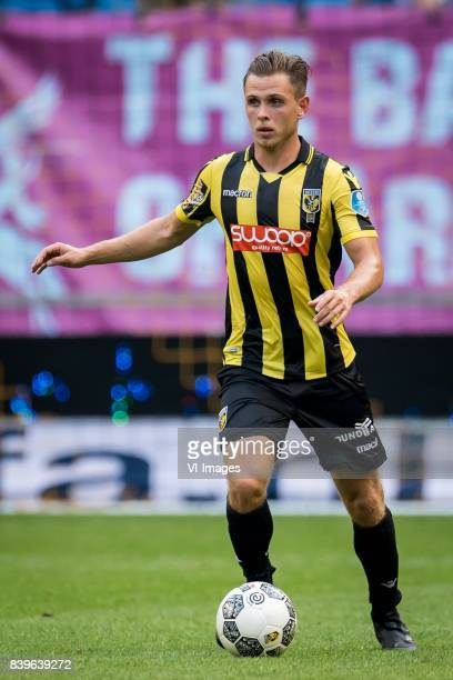 Charlie Colkett of Vitesse during the Dutch Eredivisie match between Vitesse Arnhem and AZ Alkmaar at Gelredome on August 26 2017 in Arnhem The...
