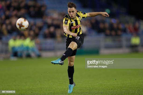 Charlie Colkett of Vitesse during the UEFA Europa League match between Vitesse v Nice at the GelreDome on December 7 2017 in Arnhem
