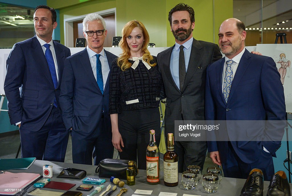 Smithsonian Museum Of American History: Mad Men Ceremony : News Photo