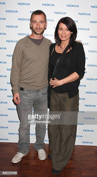 Charlie Condou and Alison King attends the launch party of the Nokia 'Capsule N96' at Century Club on September 22 2008 in London England