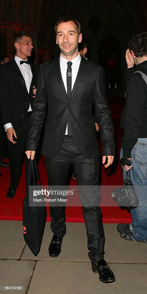 Charlie Condou attending the Attitude Magazine Awards on October 15, 2013 in London, England.