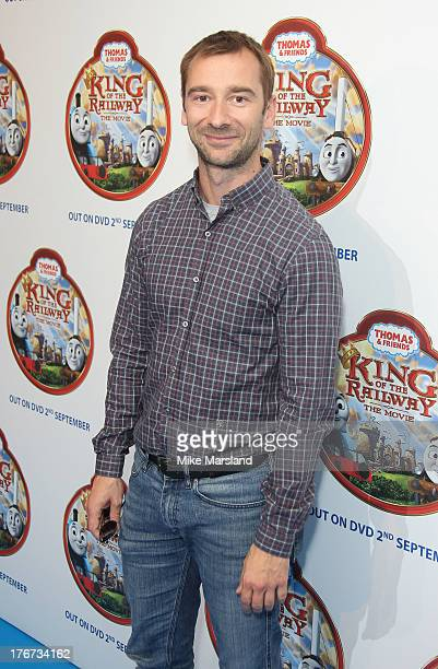 Charlie Condou attends VIP Screening of Thomas & Friends: King Of The Railway at Vue Leicester Square on August 18, 2013 in London, England.