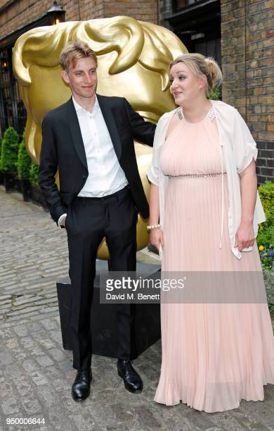 Charlie Cooper and Daisy May Cooper arrive at the British Academy Television Craft Awards held at The Brewery on April 22 2018 in London England