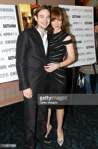 Charlie Cox and Lynn Collins during Gotham Magazine Al Pacino and Sony Pictures Host the Premiere Party for The Merchant of Venice Premiere Arrivals...