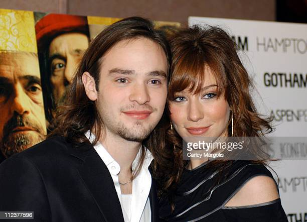 Charlie Cox and Lynn Collins during Gotham Magazine Al Pacino and Sony Pictures Host the Premiere Party for 'The Merchant of Venice' Premiere...