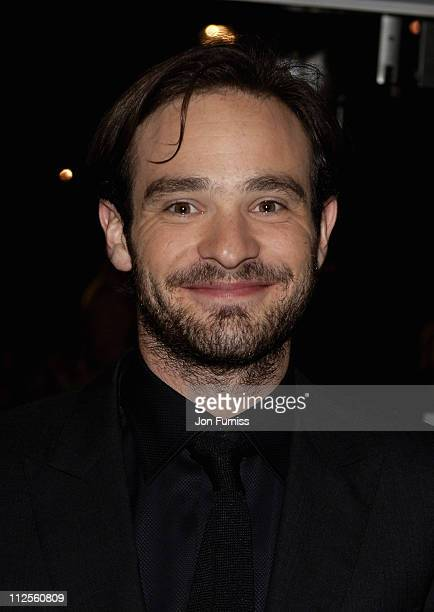 Charlie Cox arrives for the Premiere of Stardust at the Odean Cinema Leicester Square on October 3 2007 in London England