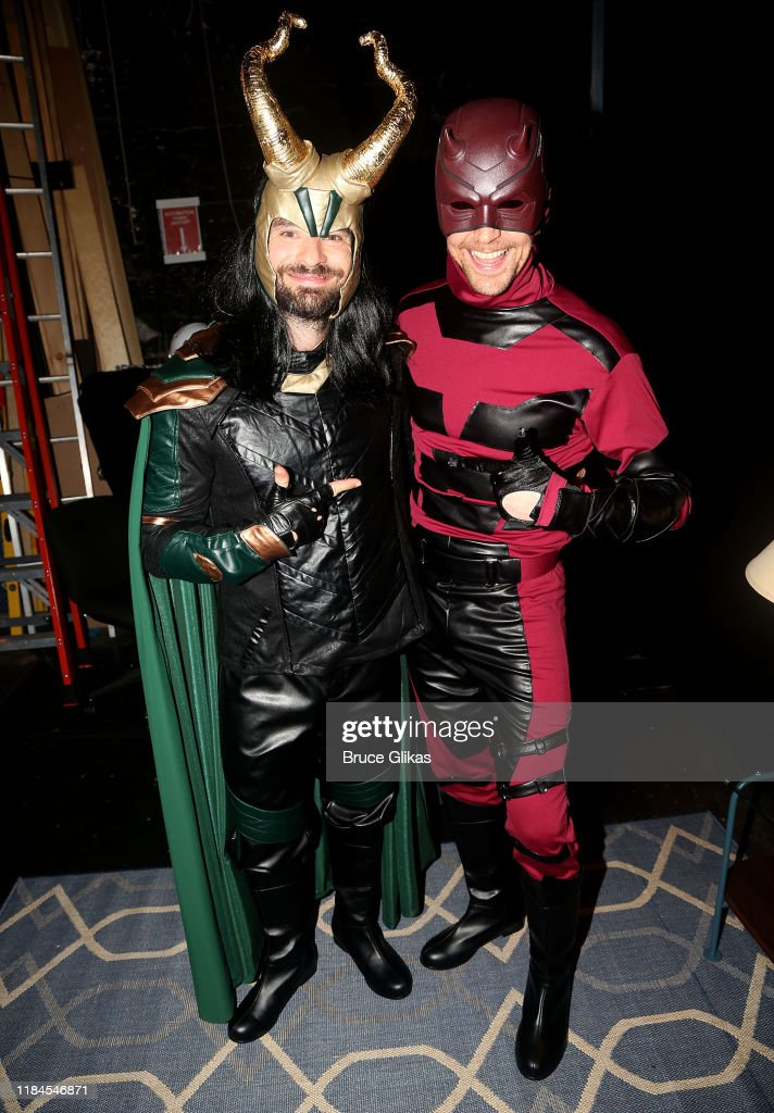 Charlie Cox as 'Loki' and Tom Hiddleston as 'daredevil'.